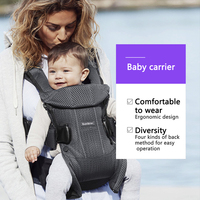 Ergonomic Baby Carrier Infant Kid Baby Sling Back Front Facing Kangaroo Baby Wrap Carrier for Baby Travel 0 36 Months