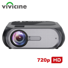 VIVICINE Newest 720p Portable LED Projector,Option Android Handheld HDMI USB Hom