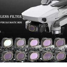 Dla DJI Mavic Mini/Mini 2 dron z kamerą obiektyw Gimbal filtr UV CPL Polar ND obiektyw aparatu filtrowanie słoneczne akcesoria ochronne