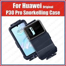 מקורי Huawei P30 פרו שנורקלינג מקרה 10 מטרים 60 דקות מקסימום מתחת למים ירי צלילה עמיד למים כיסוי VOG L09/L29