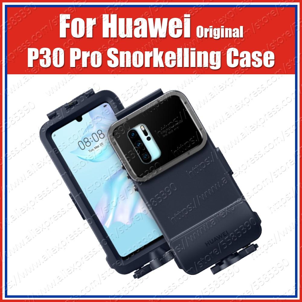 Original Huawei P30 Pro Snorkelling Case 10 Meters 60 min Max Underwater shooting diving Waterproof Cover VOG-L09/L29