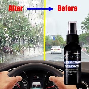 50g Car Scratch Remover Window Cleaner Car Windshield Liquid Ceramic Nano Coat Spray Anti-rain Cars Washer Car Accessories TSLM1