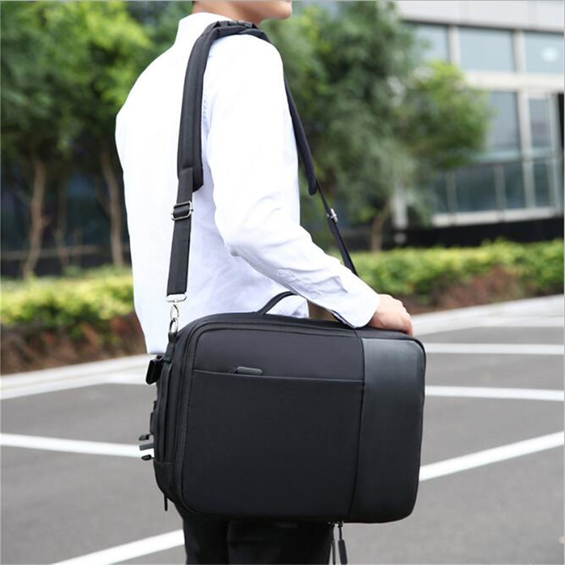 Image 5 - Mens Backpack Laptop Backpacks 17 Inch 15.6 Anti Theft Male Business Bags Notebook Trip Back Pack Office Women Travel BagpackBackpacks   -