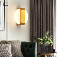 Fss novo luxo 220 v ouro moderno led arandela lâmpada de parede de cabeceira luz interior luzes luminárias sala estar conduziu a lâmpada de parede quarto