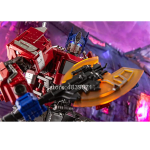 Image 4 - AOYI Action Figure Toys LS 13 LS13 Enlarged OP Star Knight Commander Truck Unofficial Biography Deformation Transformation