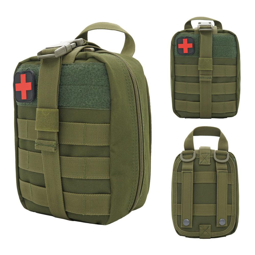 Outdoor Emergency Case Waterproof First Aid Kits Large Capacity Travel Oxford Cloth Tactical Waist Pack Camping Climbing Bag