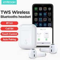 DASENLON STORE Joyroom TWS Bluetooth écouteur MG-T1S Bluetooth casque/casque/écouteurs avec fenêtre de chargement sans fil