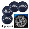 4 шт. 56 мм автомобильные наклейки на колеса, Центральная ступица, эмблема для Ford Puma Kuga F-150 Escape Kuga Mondeo Ecosport Fiesta Focus Fusion Ranger