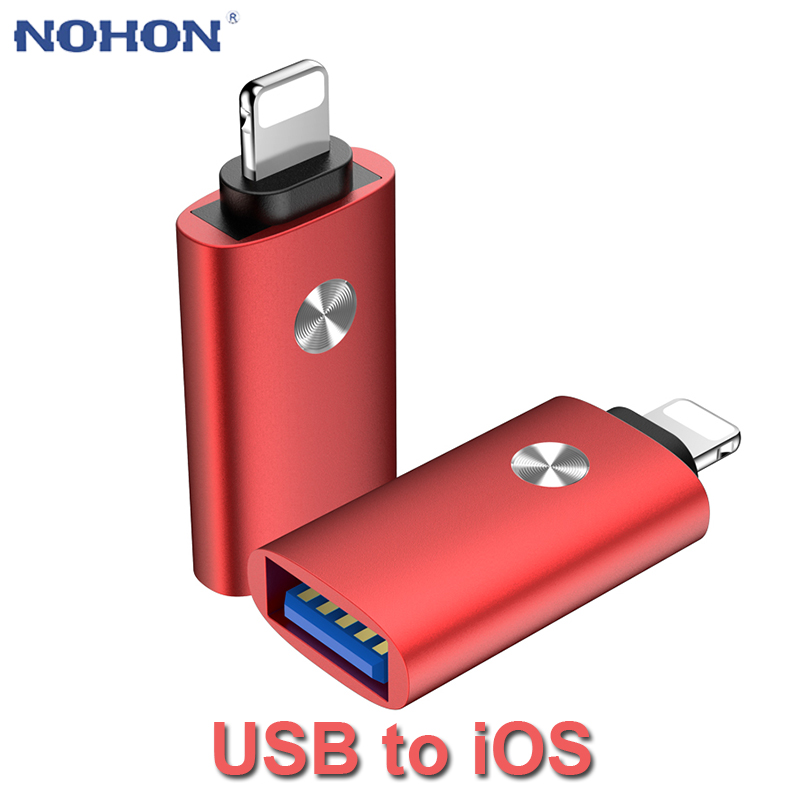 OTG USB To Lightning Adater Converter MIDI Piano Keyboard Camera Adater For IPhone 11 Pro XS Max XR X 10 8 7 6 6s 5 5s SE IOS 13