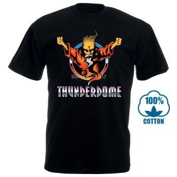 Thunderdome Hardcore Techno And Gabber Music T Shirt Men Tee Usa Size S 3Xl 012511