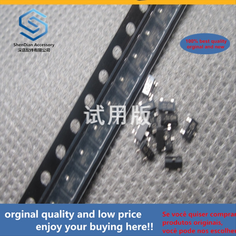 50pcs 100% Orginal New Best Quality KRC104S-RTK / P KRC104 SOT23 Silkscreen ND KEC NPN SMD Transistor
