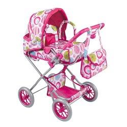 Pretend Spielen Puppe Kinderwagen Möbel Spielzeug Puppenhaus Kinderwagen Trolley Kinder Simulation Spielzeug Baby Kinderwagen für Kinder baby geschenke