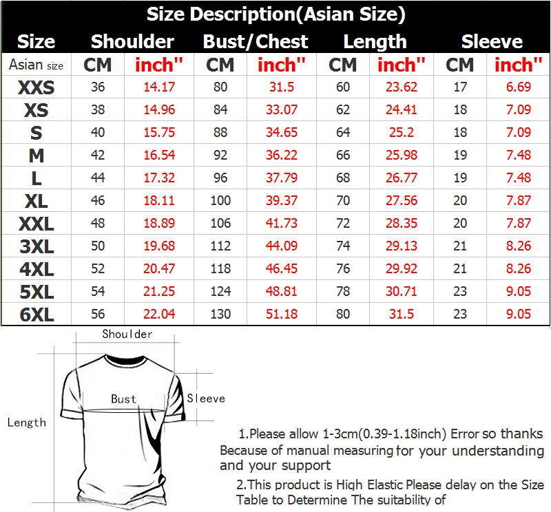 T恤衫英文版尺寸表__看图王