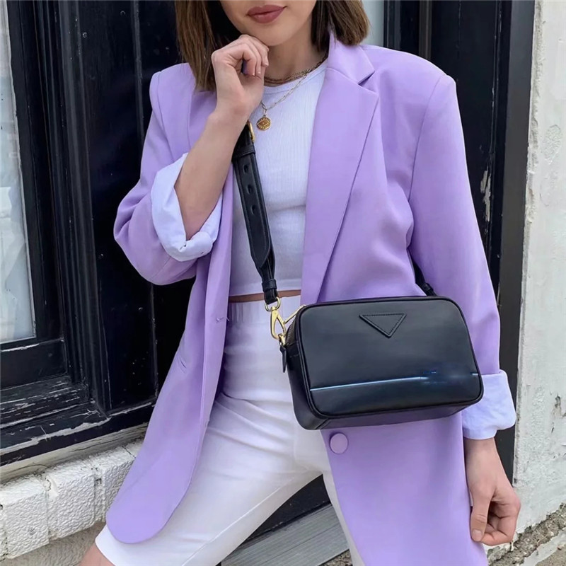 Stylish Casual Single-breasted Women Jackets Notched Collar Spring Women Blazer Jacket Female Outerwear Elegant Ladies Coat