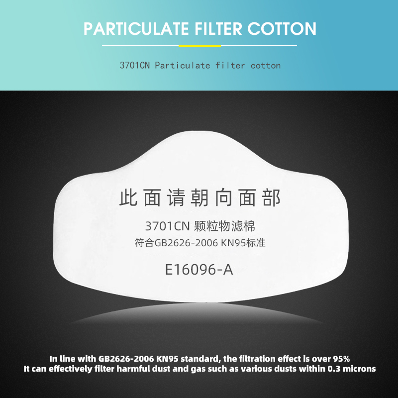 Image 4 - Anti Dust Respirator Filter Gas Mask Set Chemical Anti dust Masks  Industrial Dust Smog Paint Spraying Protective MaskMasks   -
