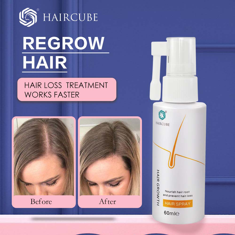 HAIRCUBE Fast Hair Growth Essence Oil Anti Hair Loss Treatment Help For Hair Growth Hair Care Products For Men Women Hair Tonic