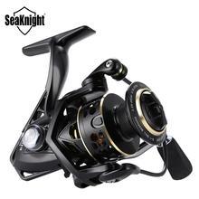 Seaknight Archer 5.2:1 4.9:1 Spinning Reel Max Drag 13Kg 8+1BB Carp Fishing Reel 2000 6000 Aluminium Spool Spinning wheel carret