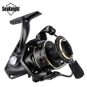 Image 1 - Seaknight Archer 5.2:1 4.9:1 Spinning Reel Max Drag 13Kg 8+1BB Carp Fishing Reel 2000 6000 Aluminium Spool Spinning wheel carret