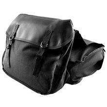 Новые мотоциклетные седельные сумки для Honda Yamaha Suzuki Sportster Kawaski мотоциклетные скутеры седельная сумка, черный