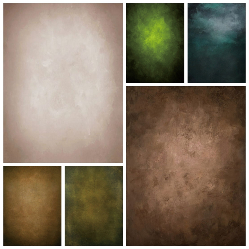 Yeele Abstract Gradient Grunge Vintage Polyester Vinyl Baby Portrait Backdrop Photography Background For Photo Studio Photophone