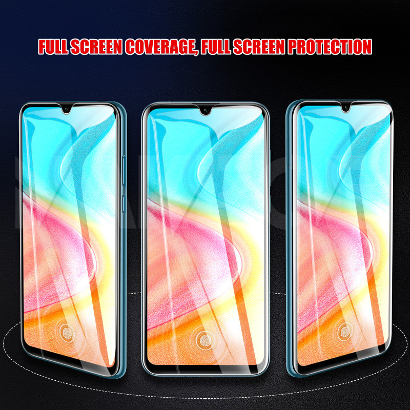9H Protective Glass on the For Honor 20 10 9 8 Lite Tempered Screen Protector Glass Honor 9X 8X V30 V20 V10 Clear Glass Film
