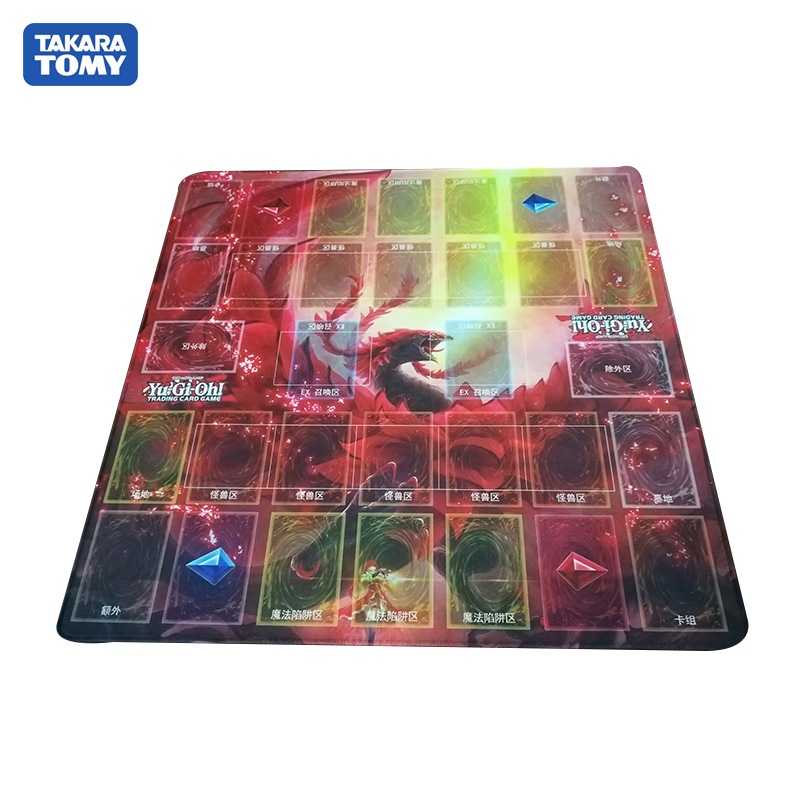 Takara Tomy 55*55cm Playmat for YU GI OH Duel Masters Card Pad TCG Gamepad Mousepad image