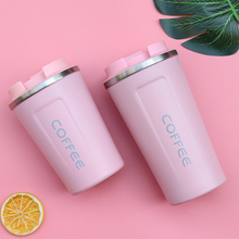 380ML/510ML Travel Coffee Mug Stainless Steel Thermos Tumbler Cup Vacuum Flask thermo Water Bottle Tea Mug Car-Bottle Thermo cup