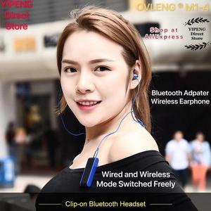 Image 4 - OVLENG M1 4 Bluetooth Earphones Transimitter Receiver Wireless Adapater 3.5mm Receptor as MP3 Player Walkman Radio Earphones