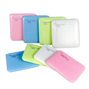 Storage-Box Mask-Case Antibacterial-Mask Medicine Band-Aid Portable Moisture-Proof Temporary