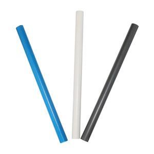 Image 5 - 10 Pcs DN20 DN25 DN32 PVC צינור מחבר השקיה אקווריום דגי טנק ניקוז צינור אינסטלציה 48 50cm לבן/כחול/אפור