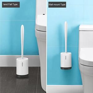 Image 5 - LEDFRE soporte para escobilla de baño, juego de cuencos, cerdas suaves, productos de limpieza de baño, hogar, GoodsLF73001