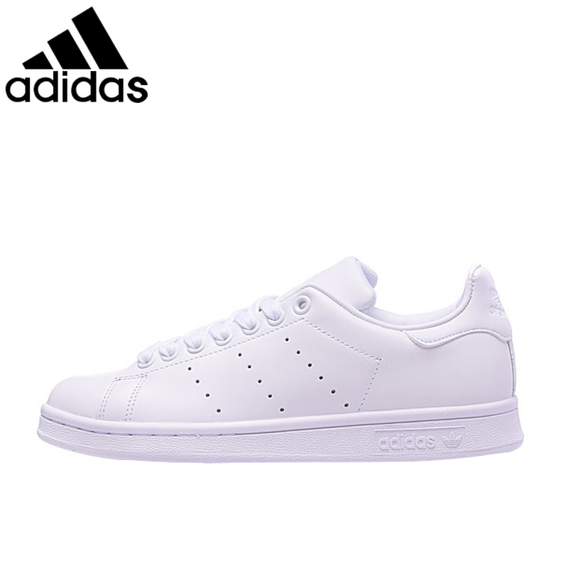 Original Adidas StanSmith Clover Series Men And Women Skateboarding Shoes White Leisure Sneakers Low-top Flat Comfortable S75104
