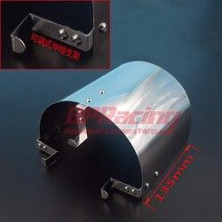 135 мм/160 мм/190 мм Высокий Универсальный воздушный фильтр из нержавеющей стали тепловой щит для 2,25
