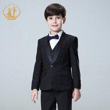 Suit for Boy Kids Prom Suits Wedding Suits Kids Blazers Boys Clothing Set Roupas Infantis Menino Boys Suits for Wedding 5pcs/Set