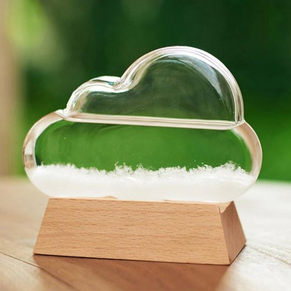 Objective Weather Forecast Crystal Pear Shape Storm Glass Decor Christmas New Year Gift Weather Forecast For Bottle Drop Storm Art Decor Attractive And Durable