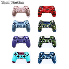 цена на ChengHaoRan Housing Shell Case for Sony PS4 Pro Slim 4.0 JDS-040 Wireless Controller Button Mod Kit Cover for Dualshock 4 Pro