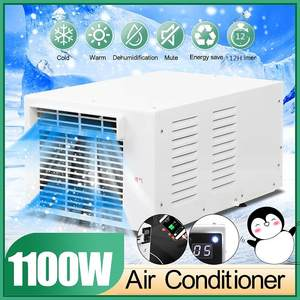 110V/220V 1100 Вт воздушный охладитель вентилятора машина для изготовления холодного/тепла для рабочего стола, осушения таймер дистанционный пул...