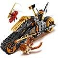 230 шт. серии ниндзя кирпичи Коул Байк совместимость и принтом «LEGO Ninjago», 70672, строительные блоки, игрушки для детей на день рождения, подарок н...