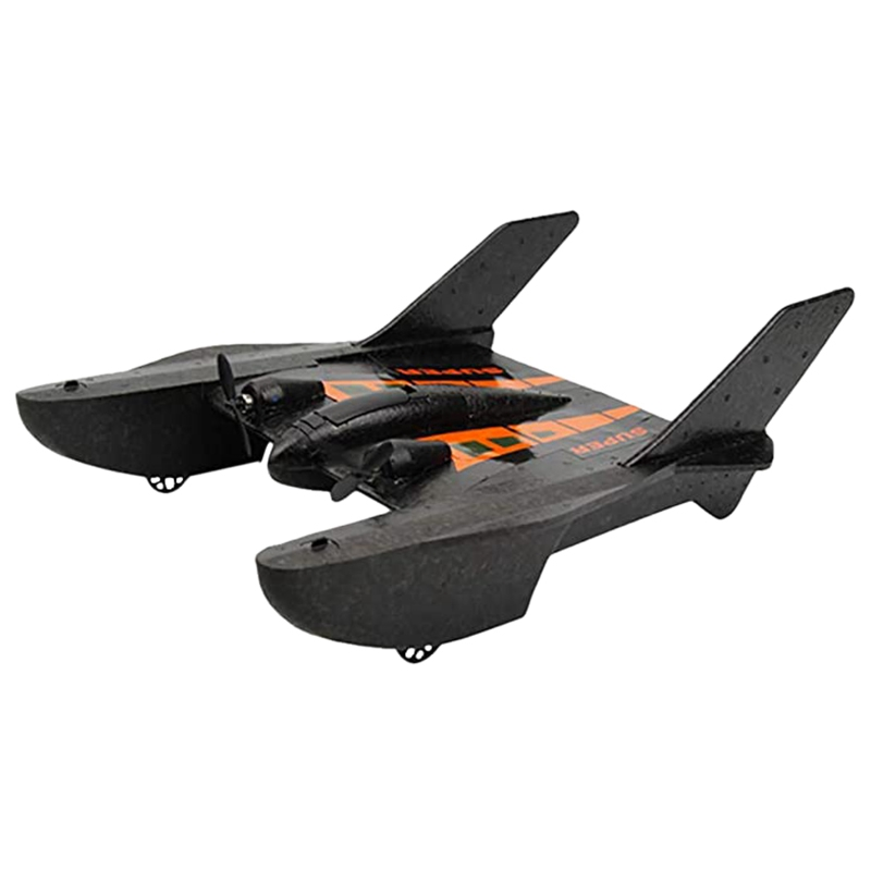 RC Fighter RC Simulation airplane Glider RC Model Easy Flying Drop-Resistant Foam Model Spaceship image
