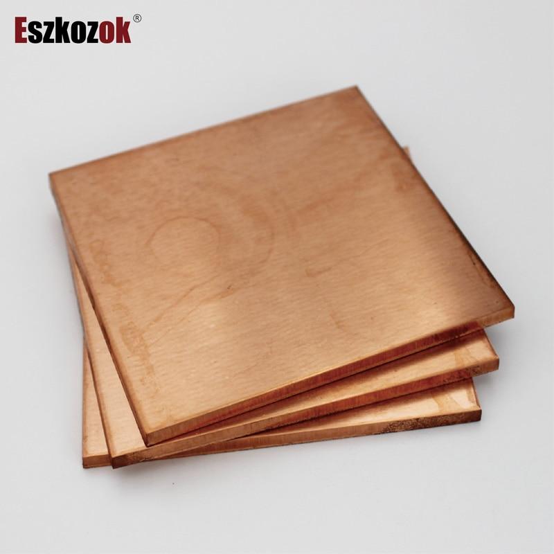 Copper Sheet Plate 0.1mm 0.15mm 0.2mm 0.3mm 0.4mm 0.5mm 0.8mm 1mm 1.5mm 2mm 3mm 4mm 5mm 6mm