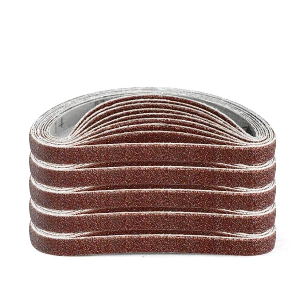 10pcs 10x330mm Abrasive Sanding Belts 1000 Grit Sanding Grinding Polishing Tools For Sander Power Rotary Tools