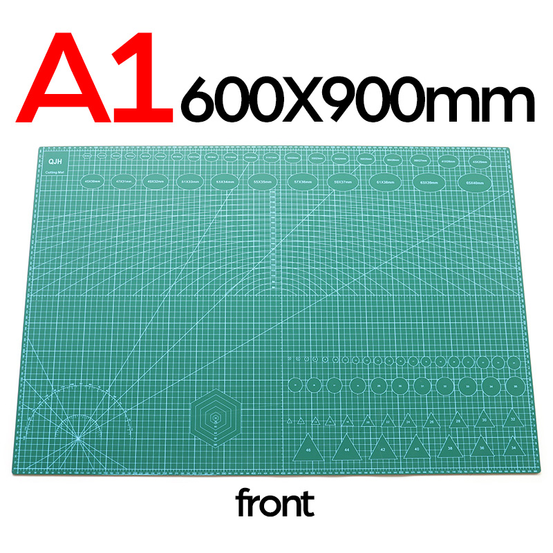 A1 A2 A3 A4 Pvc Cutting Mat Board Durable Self Healing Diy Sewing Student Art Paper Engraving Cut Pad Leather Craft Tool Lazada Singapore