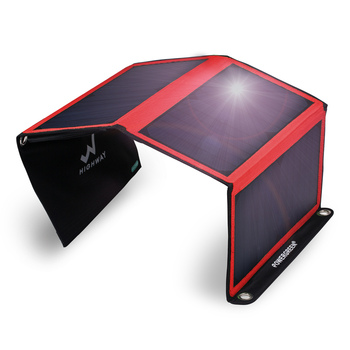 Solar power bank waterproof mobile high efficiency solar charger high efficiency amorphous silicon thin film solar cells