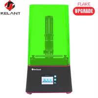 Kelant Flare SLA 3D impresora Pro joyería dental metal edition2560 * 1440 UV resina de cura de luz 3,5 ''405nm pantalla LCD DLP 3d impresoras