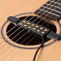 12 loch-Sound Gitarre Pickup Mikrofon Draht Verstärker Lautsprecher Für Stahl String Gitarre Verstärker Lautsprecher Sound
