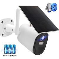 Cámara de seguridad inalámbrica para el hogar, dispositivo de vigilancia con tarjeta SIM 3G, 4G, 1080P, HD, Solar, WIFI, PIR, vídeo humano, Monitor de bebé