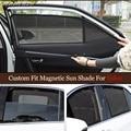 Магнитные специальные занавески для Volvo XC60 XC90 S60 S60L V60 S80 S80L S90 S90L V40, занавески на окна, сетчатые занавески, полностью закрытые