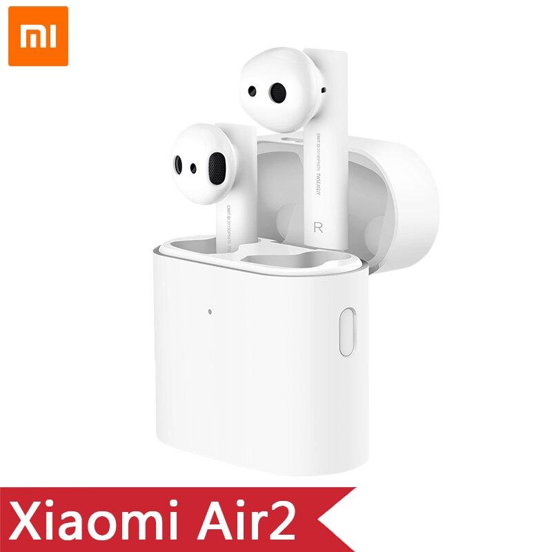 Оригинальные новые беспроводные наушники Xiaomi Airdots Pro 2 Mi True, TWS наушники xiaomi Air 2 Air 2 LHDC с сенсорным управлением, двойным микрофоном ENC