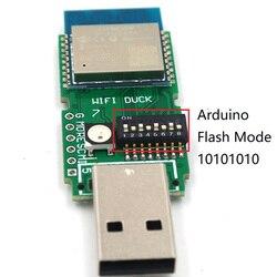 Usb Rubber Ducky Tool Wifi Eend Toetsenbord Accessoires Programmeerbare Development Board ESP-WROOM-02 ESP8266 Atmega32u4 Voor Arduino
