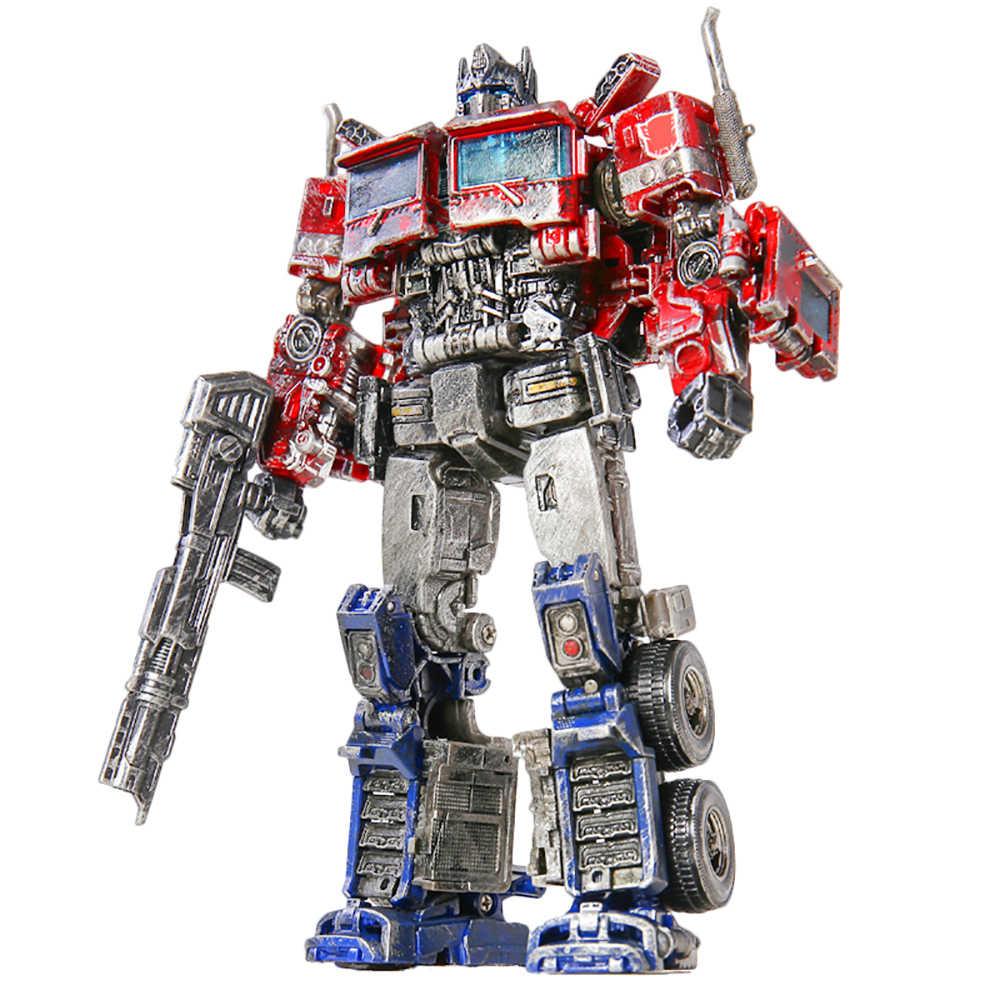 AOYI H6001-4 transformacji Model postaci po dowódca przemalować ze stopu bitwa uszkodzenia Ver. KO SS38 zdeformowany samochód zabawka Robot